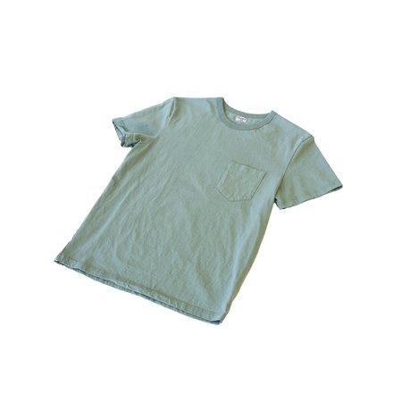 Homespun Knitwear Dad's Pocket Tee Tennessee Jersey - Pine Fade