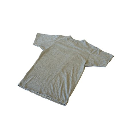 "National Athletic Goods Athletic Tee ""NATL"" Mock Twist Jersey - Ash Grey"
