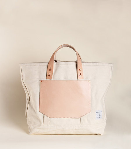 IMMODEST COTTON Pocket Tote - Natural