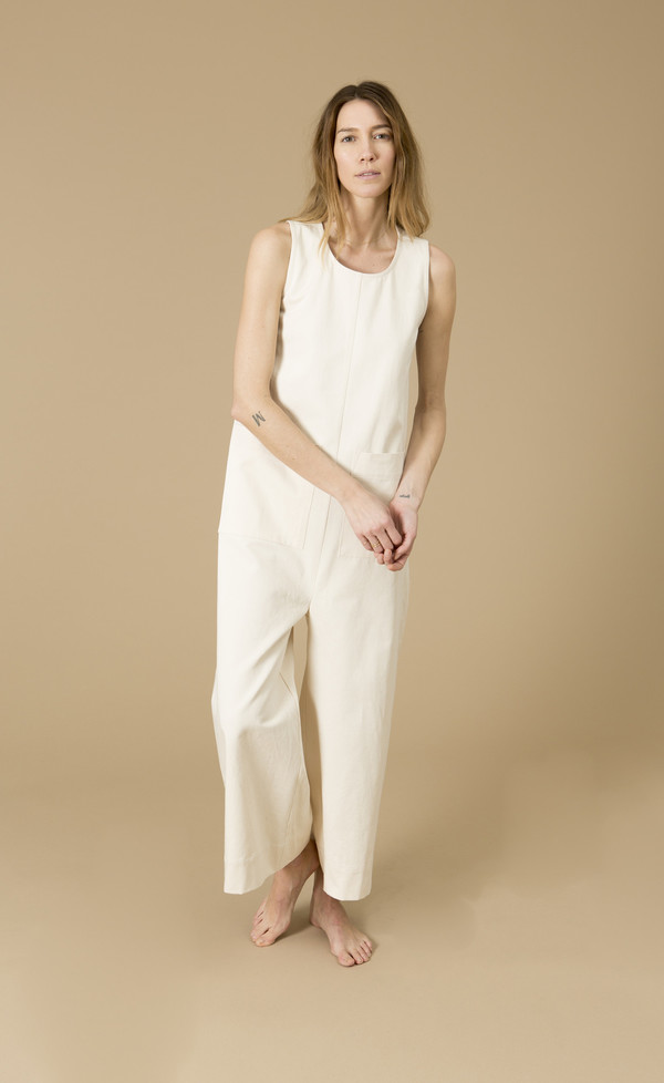 Ilana Kohn Harry Jumpsuit, Cream