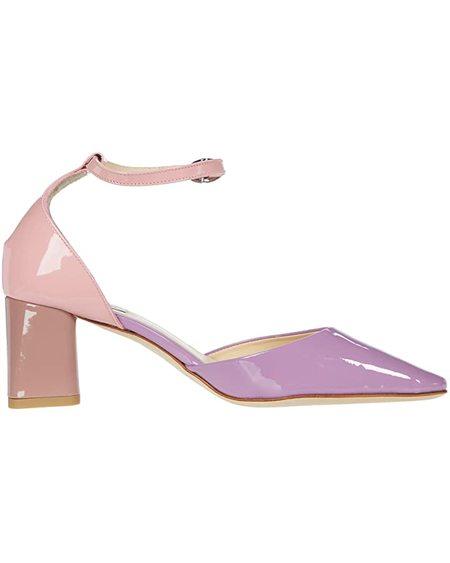 Repetto Naiade Colorblock Heels - MULTI