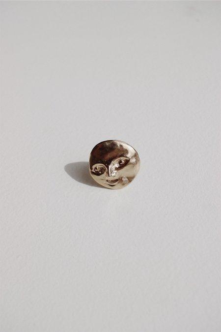 Yu Yu Shiratori full moon ring - brass