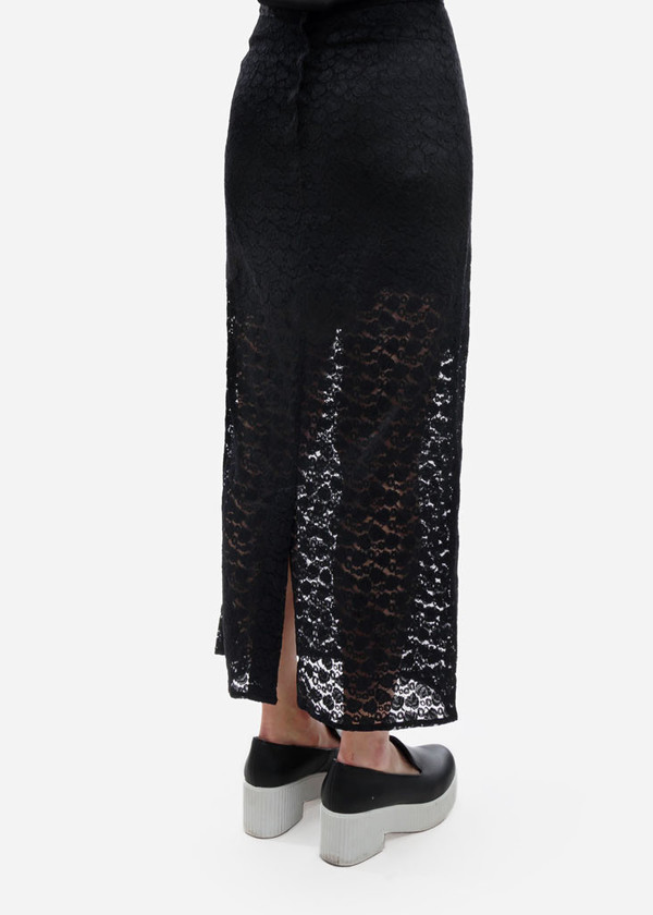 Toit Volant - Midi Lace Pencil Skirt