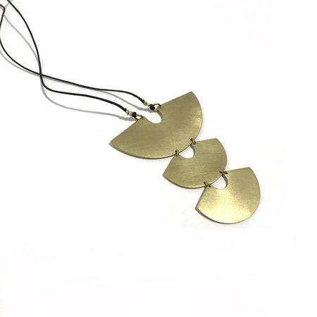Enarmoured Protector Necklace - Brass