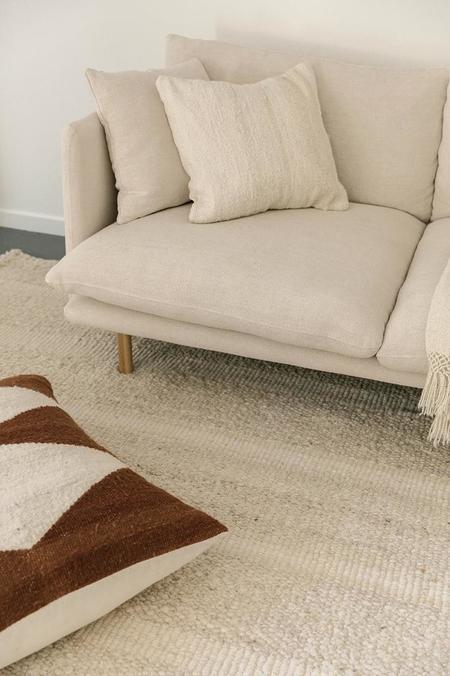 Pampa Puna #1 Cushion - Natural White