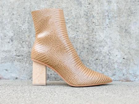 FREDA SALVADOR Fia Pointy Heel Boot - Wheat