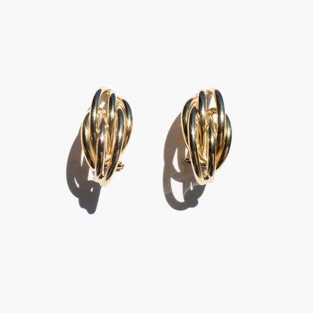 Kindred Black Luce Earrings - 14k gold