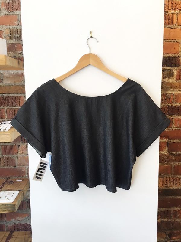 Sara Duke Your Favourite Shirt Crop