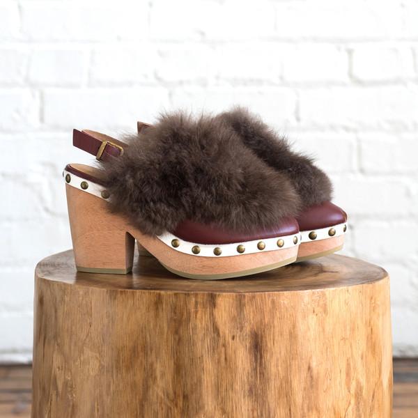A Detacher Egret Shoe