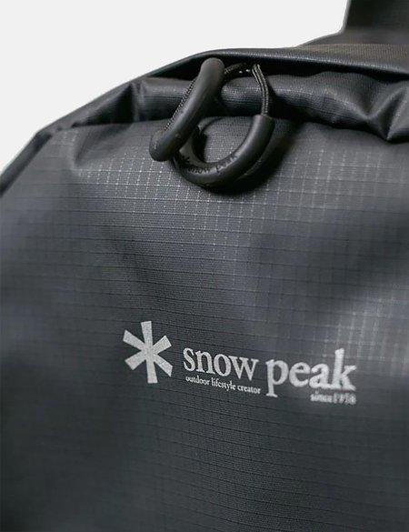Snow Peak Day Pack Rucksack - Black
