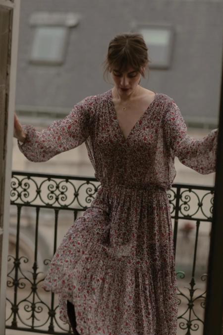 MAGALI PASCAL Kazane Midi Dress - Print