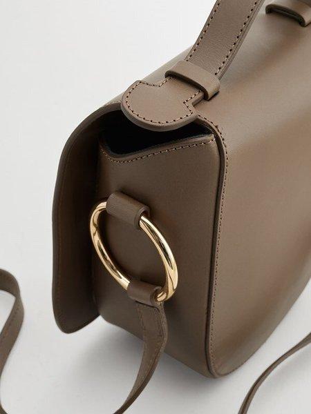 ATP ATELIER Carrara Crossbody Bag - Khaki Brown