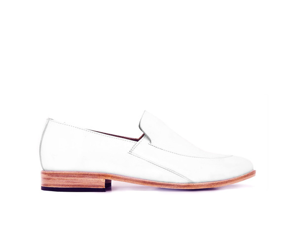 Zou Xou Loafer in White