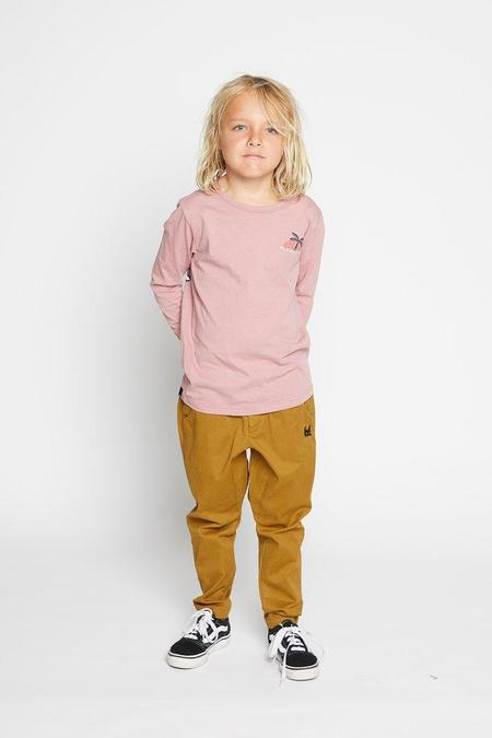 Munster Kids Stormy Top - Dusty Pink