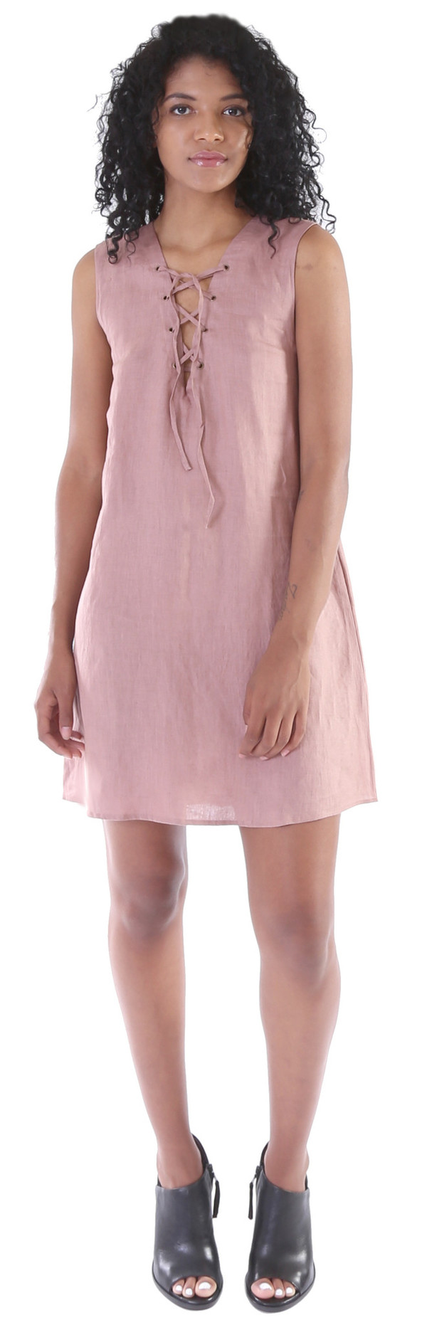 LILYA Amadeus Linen Dress