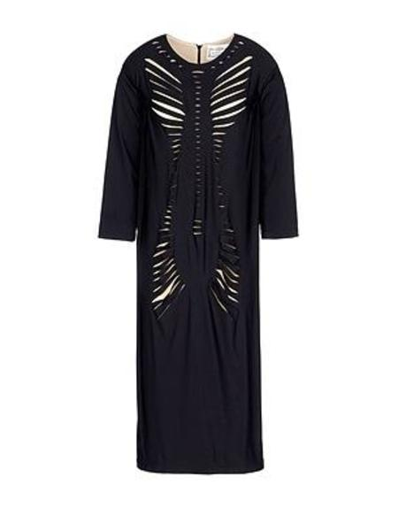 Daniel Silverstein Slash Dress - Black