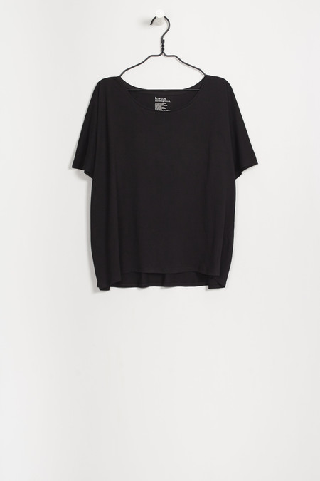 Kowtow Building Block Oversized Tee in Black