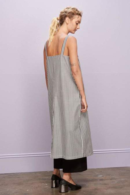 KOWTOW SHADOW DRESS - STRIPED