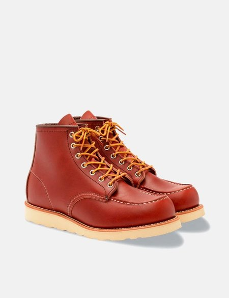 """Red Wing 6"""" Moc Toe Boo - Oro Russet Portage"""