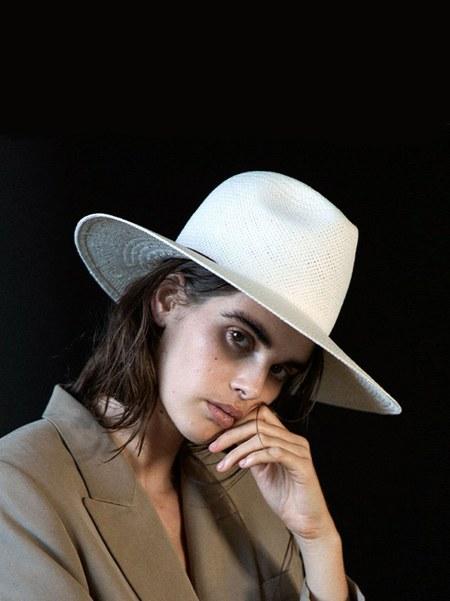 Janessa Leone Calvin Hat - Beige