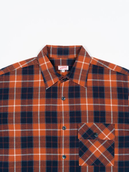 Arpenteur Doris Shirt - Orange Check