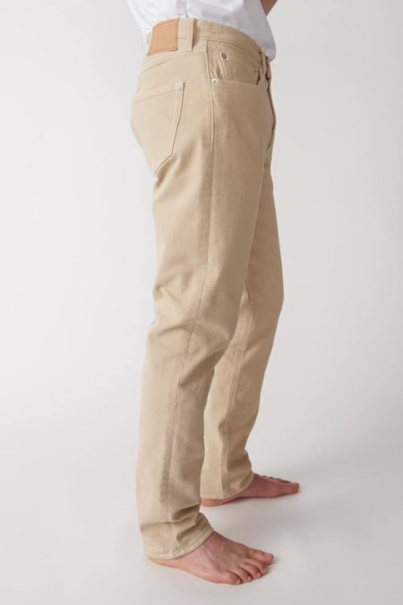 Jeanerica Tapered 5 pocket trousers - beige