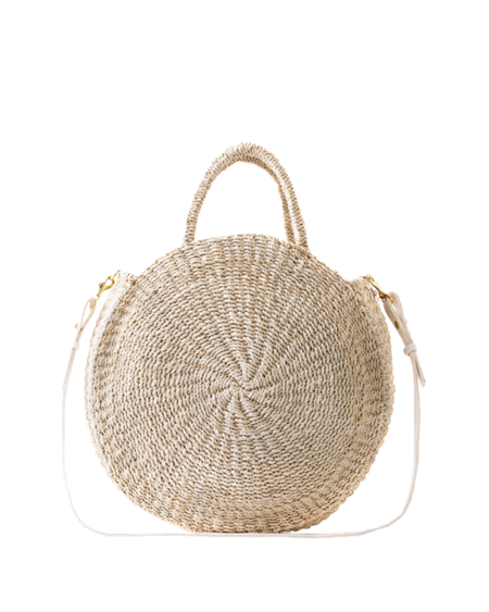Clare V. Alice Woven Bag - Natural