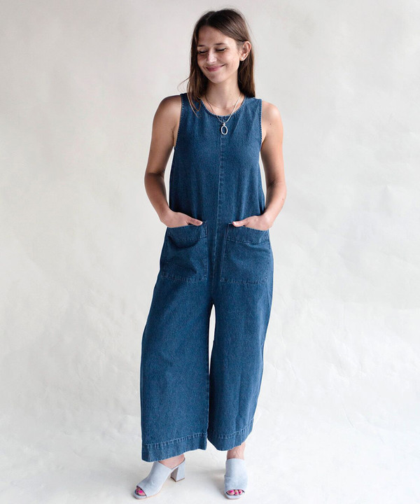 Ilana Kohn Harry Denim Jumpsuit