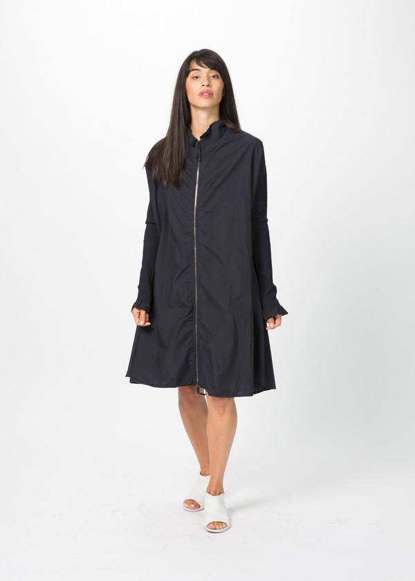 Rundholz Dip Oversize Ribbed Sleeve Dress