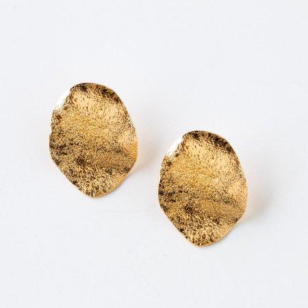 Isabelle Kapsaskis Olas Golden Earrings - Silver/Gold
