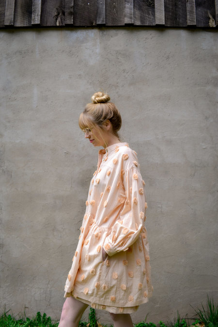 House Dress St. Honore Layered Dress - Sesame