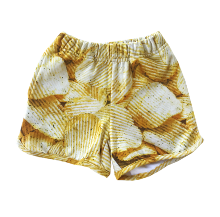 Kids Romey Loves Lulu Potato Chips Shorts
