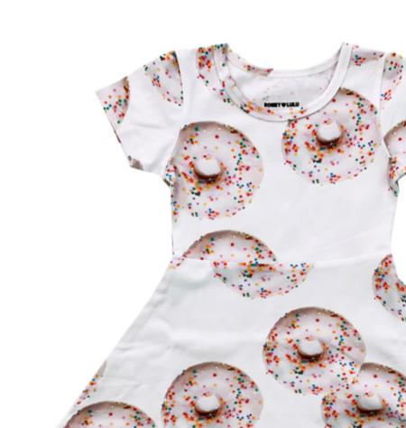 Kids Romey Loves Lulu Donuts Skater Dress