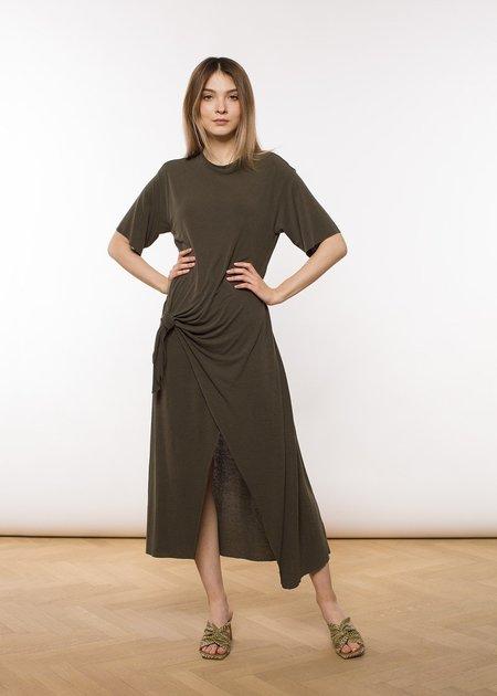 ÁERON Vicky Tie Detail Jersey Dress - blossom