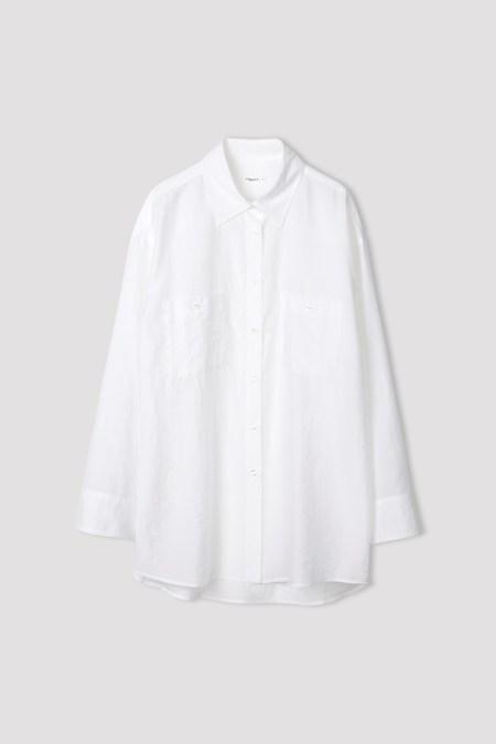Filippa K Sandie Shirt - Coconut White
