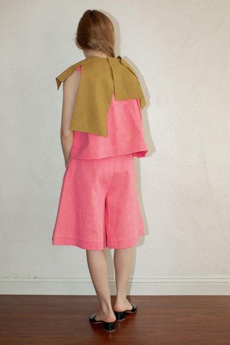 Nancy Stella Soto Piñata Sleeveless Shirt - Royal Pink