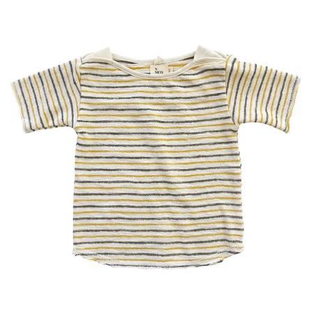 KIDS Nico Nico Baby Frances Striped T-shirt - cream