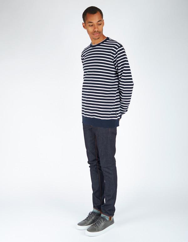 Men's Oh Dawn Sea Side Sweater Dark Blue