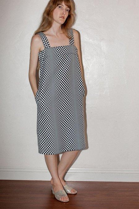 No.6 Rita Dress - Black Checkerboard