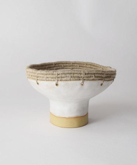 Karen Gayle Tinney Decorative Bowl #608 - White