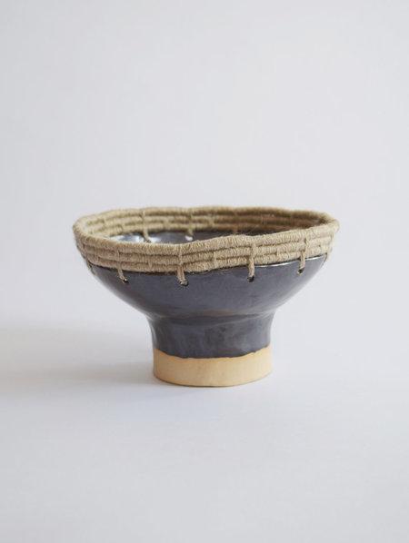 Karen Gayle Tinney Decorative Bowl #608 - Black