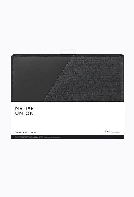 """Native Union 13"""" Stow Slim Sleeve - Slate"""