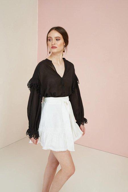 Magali Pascal Maiko Linen Skirt