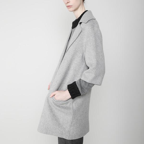 7115 by Szeki Mid-Sleeves Wool Jacket FW16