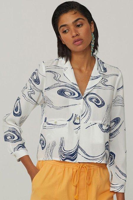 Paloma Wool Ola Button Up - Twister
