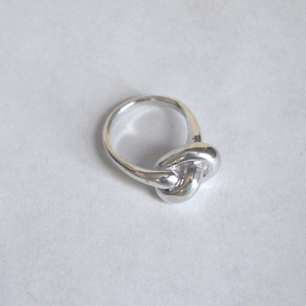 Drift/Riot Knot Ring - Silver