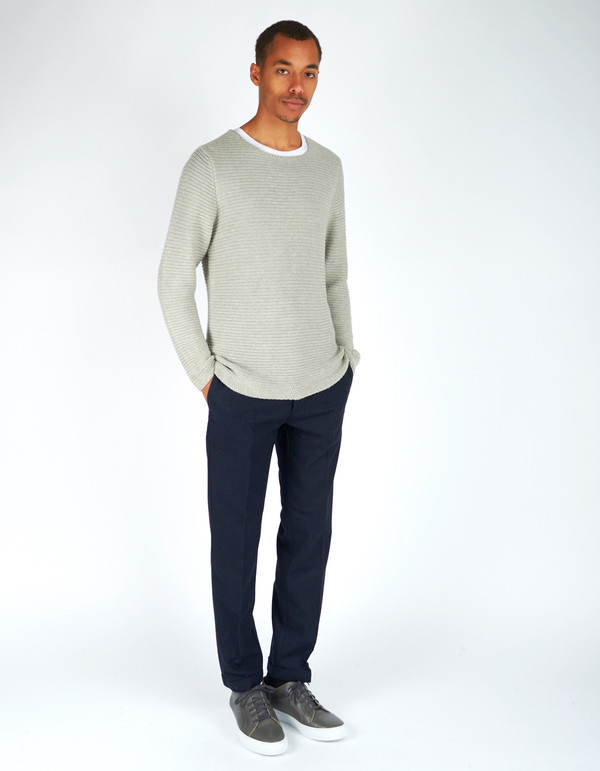 Men's Neuw Johnny Knit Grey Marle