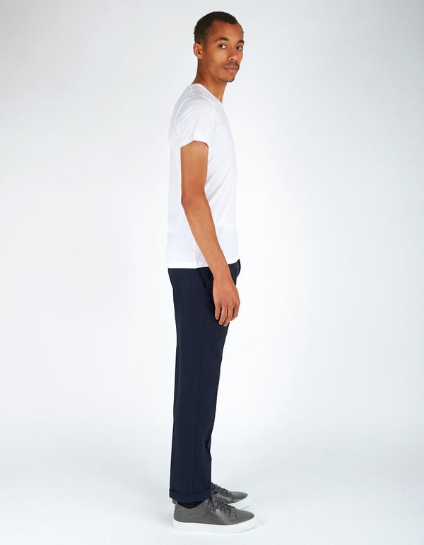 Men's Neuw Straight Edge Wool Chino Indigo