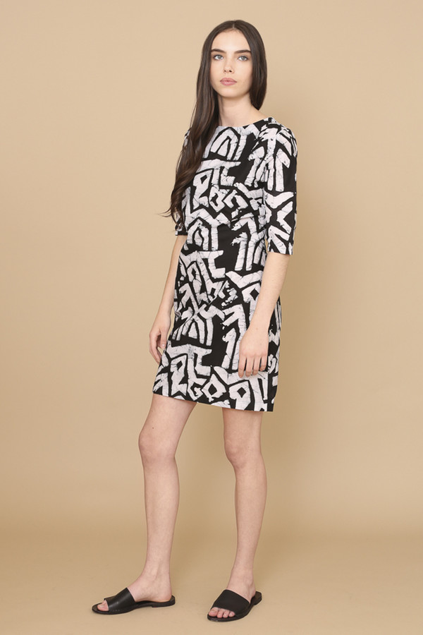 Osei-Duro Muto Dress in Labyrinth