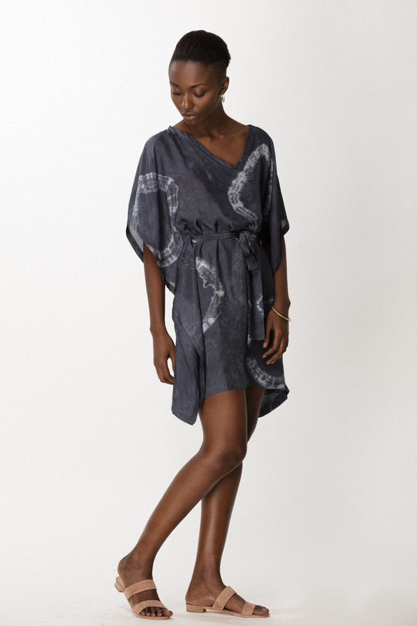 Osei-Duro Vero Cover-up in Dove Tie-Dye